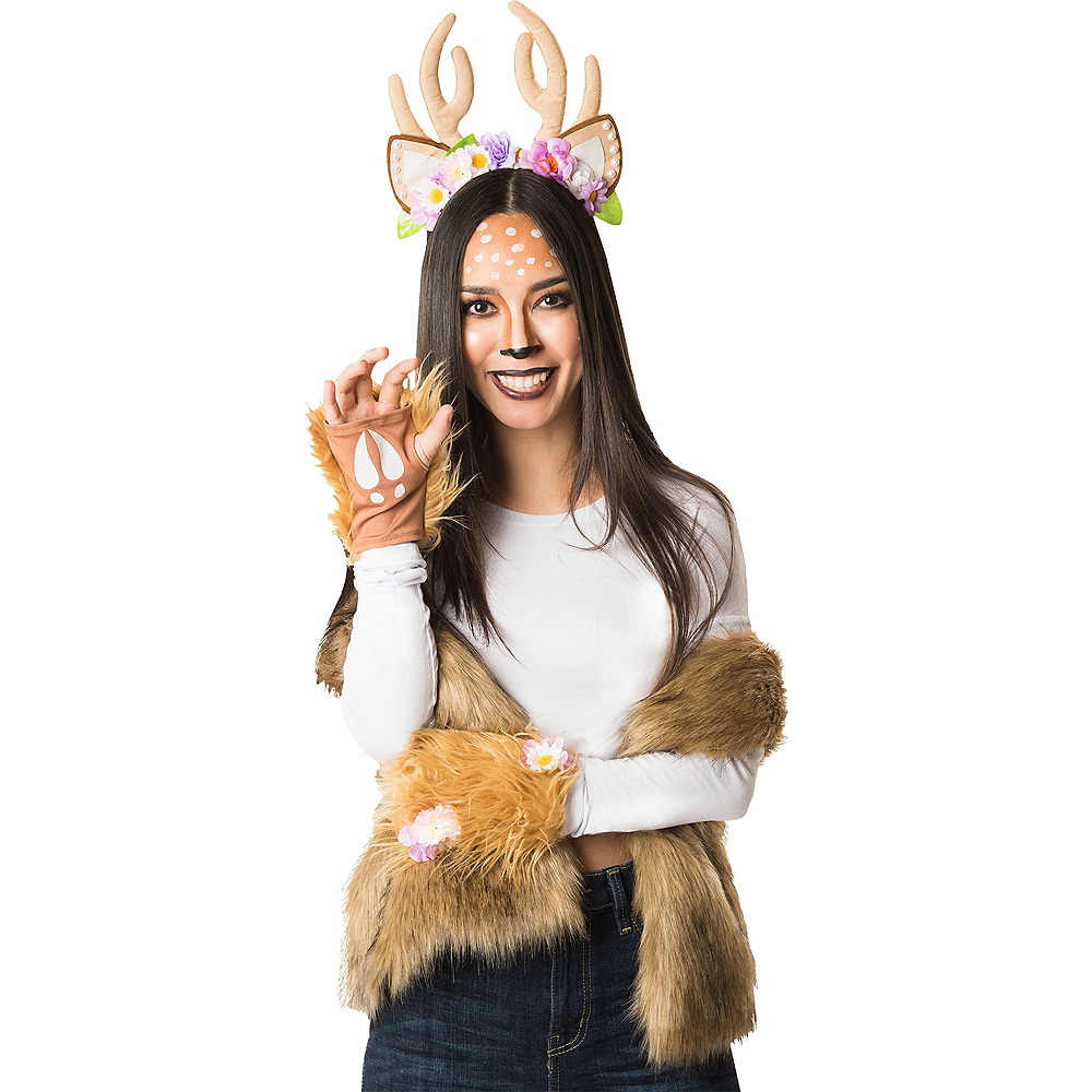 Womens Woodland Deer Costume Accessory Kit | Party City