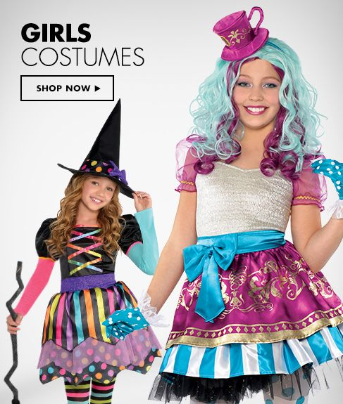 Girl's Halloween Costumes