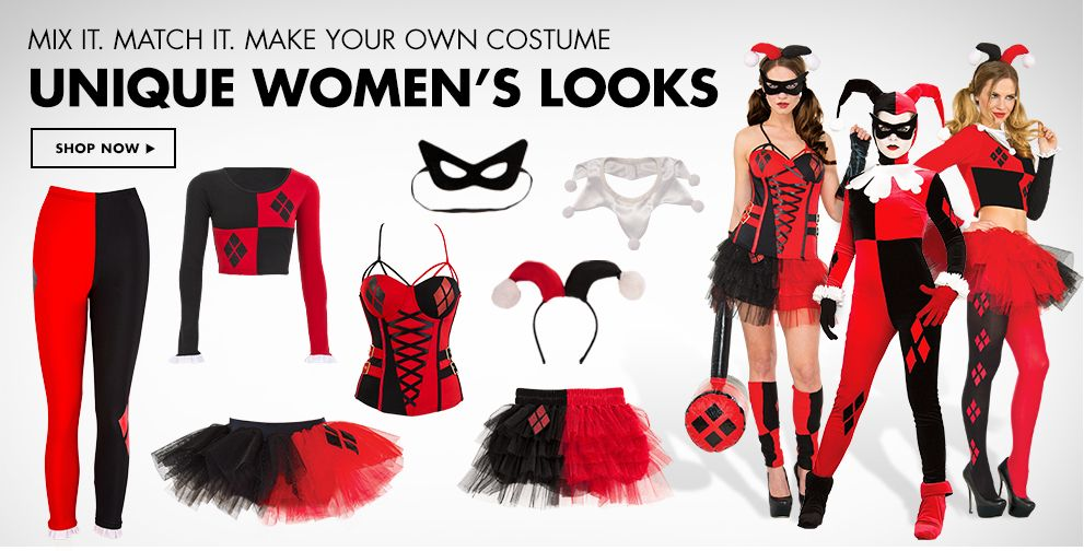 Harley Quinn Costumes & Accessories