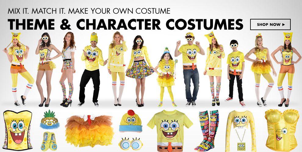 Sponge Bob Costumes & Accessories