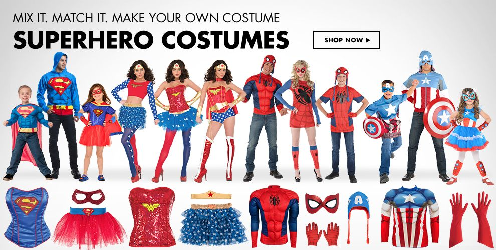 Superheroes Costumes & Accessories