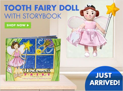 Tooth Fairy Doll with Storybook