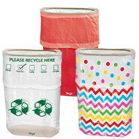 3 for $12 Pop-Up Trash Bins