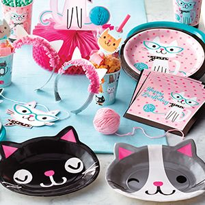 Purrfect Kitty Party Supplies