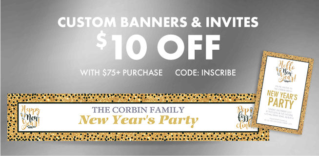 Custom New Year's Invitations