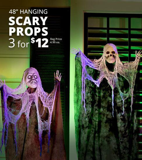 Halloween Hanging Props