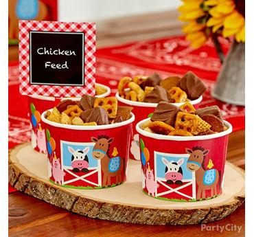 Chicken Feed Treat Cups Idea