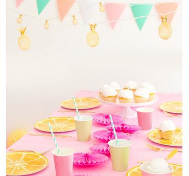 Cute Fruit Place Setting Idea