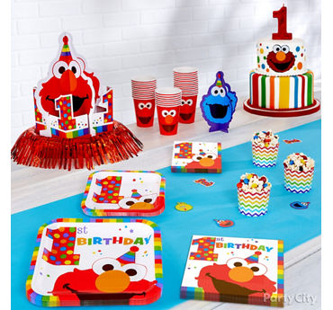 Elmo Party Plates Idea