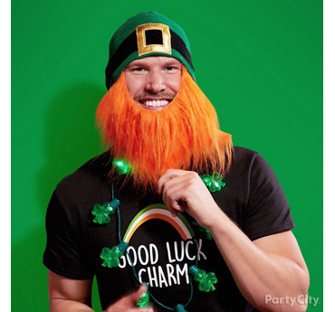 Funny St. Patricks Day Beard Idea