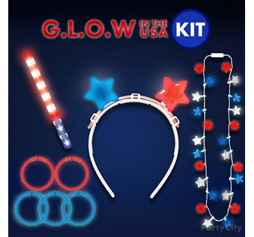 Fireworks Watching Glow Outfit Idea