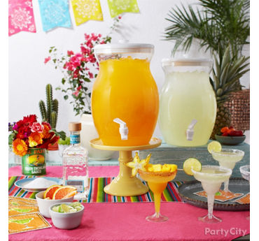 How to Set Up a Margarita Station