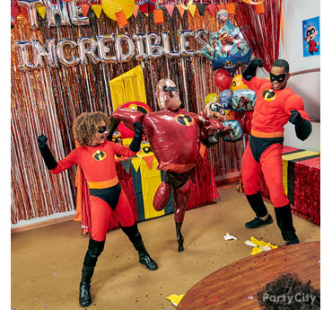 Incredibles Balloon Photo Op Idea