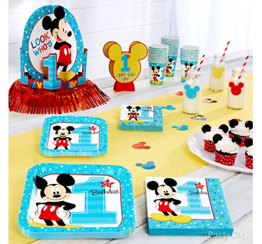 Mickey Mouse First Birthday Theme Idea
