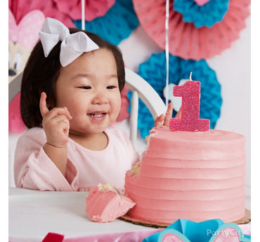 Minnie Party First Birthday Cake Idea
