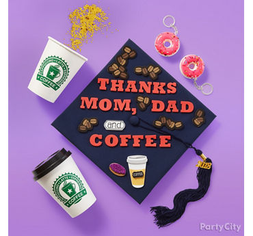 Say Thanks Grad Cap Decorating Kit Idea