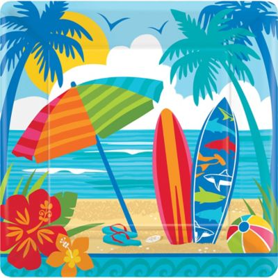 Beach Theme Party Supplies Decorations