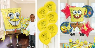 Spongebob Balloons Party City