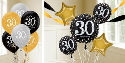 30th Birthday Balloons Party City
