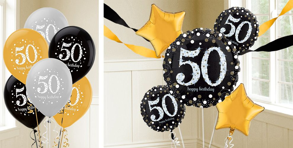 50th Birthday Balloons
