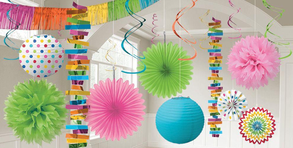Multicolor Decorations