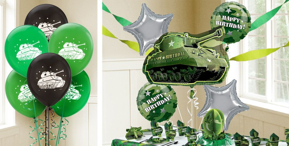 Camouflage Balloons