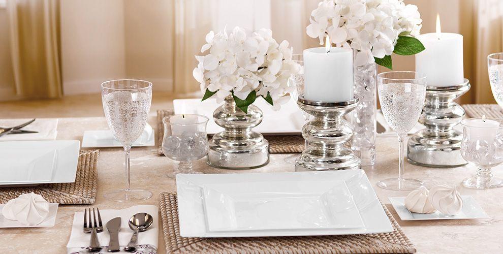 White Premium Tableware