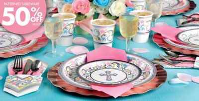 Blessed Day Religious Party Supplies & Blessed Day Religious Party Supplies | Party City