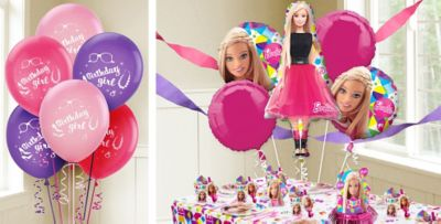 Barbie Balloons Party City