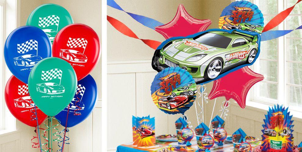 Hot Wheels Balloons