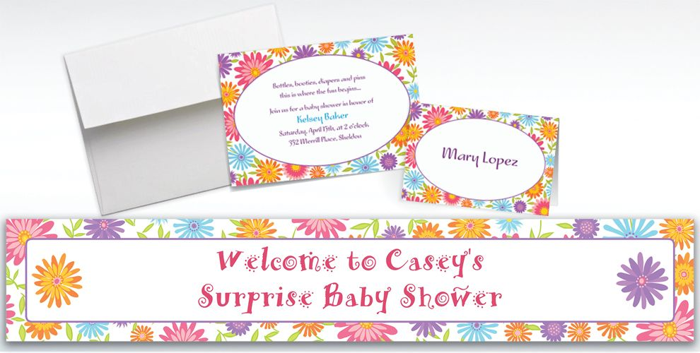 Custom Spring Day Invitations and Thank You Notes