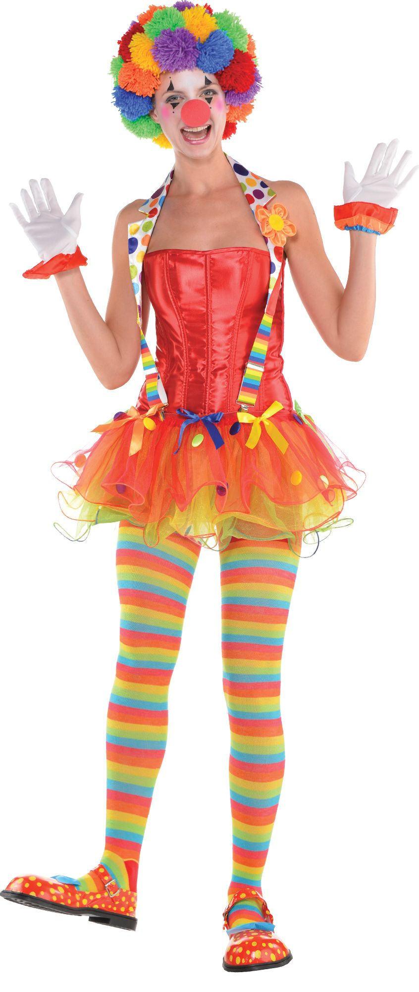Create Your Look - Women's Clown