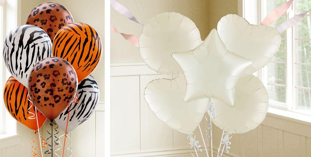 Vanilla Balloons