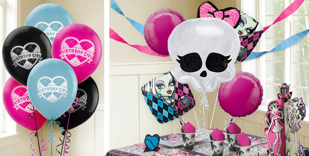 Monster high balloons party city monster high balloons filmwisefo Image collections