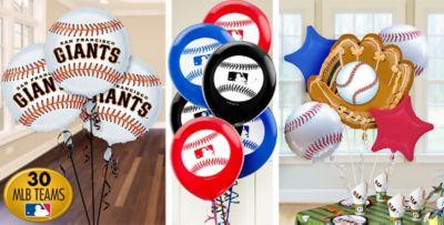 Baseball Balloons Party City