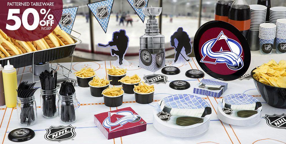 NHL Colorado Avalanche Party Supplies