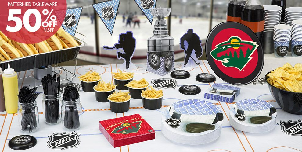 NHL Minnesota Wild Party Supplies