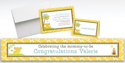 Custom Lion King Baby Shower Invitations Thank You Notes Party City