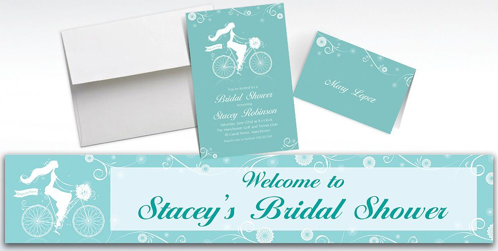 Custom chapel bicycle bridal shower invitations thank you notes custom chapel bicycle bridal shower invitations and thank you notes filmwisefo