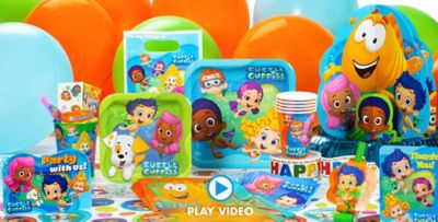 Bubble Guppies Party Supplies  sc 1 st  Party City & Bubble Guppies Party Supplies - Bubble Guppies Birthday | Party City