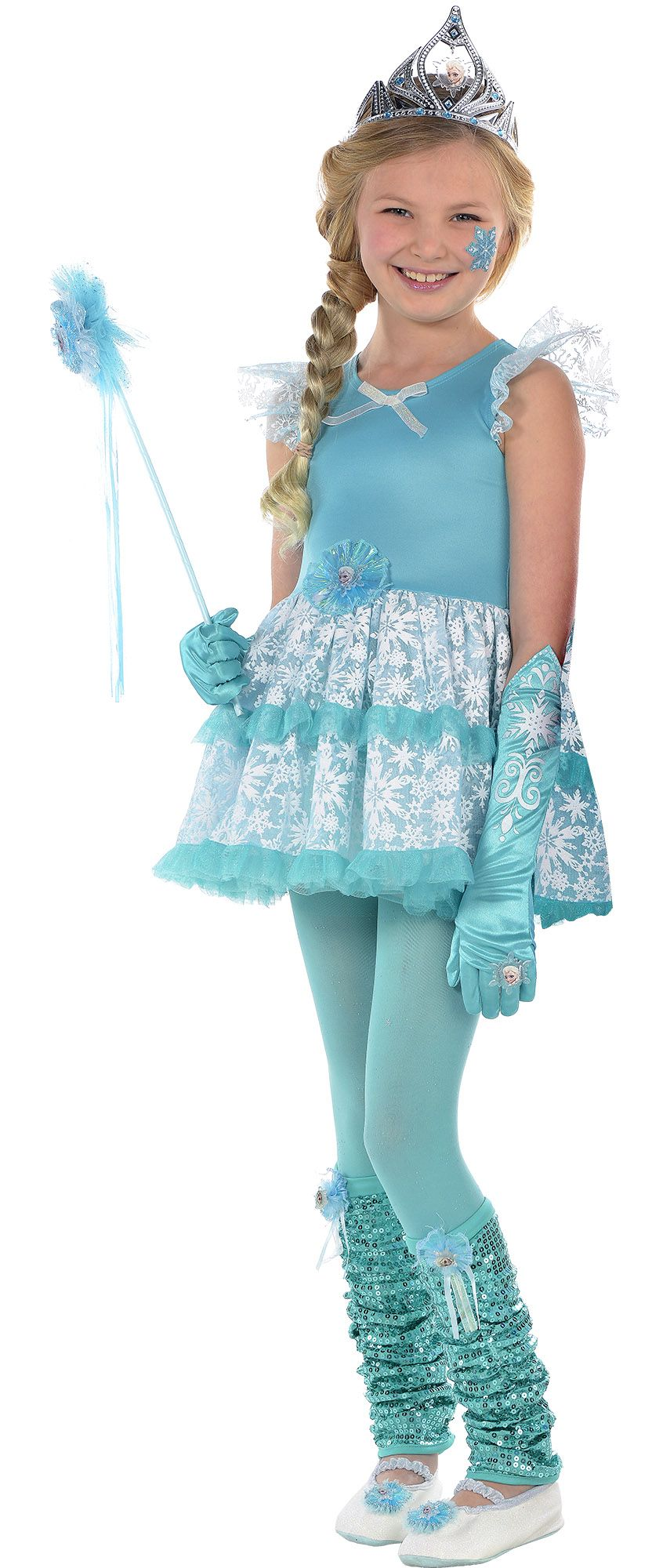 Create Your Own Girls\' Elsa Costume Accessories | Party City