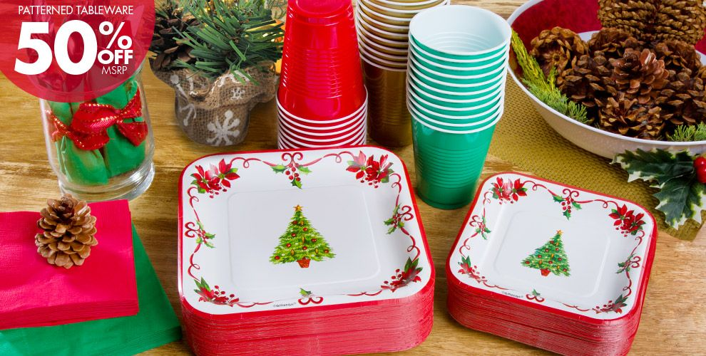 Traditional Christmas Party Supplies