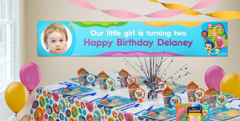 Custom Bubble Guppies Birthday Banners