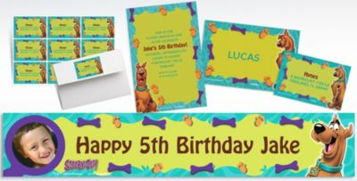 Custom Scooby Doo Invitations Thank You Notes Party City