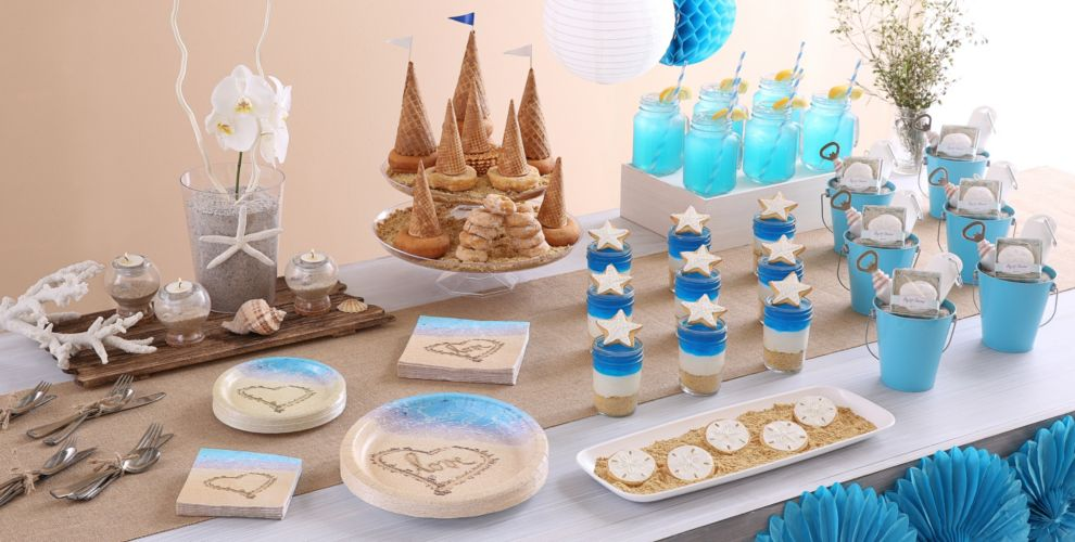 Patterned Tableware 50% off MSRP — Beach Love