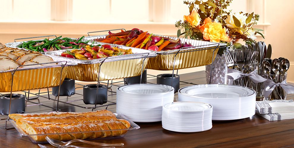 Thanksgiving Chafing Dishes and Aluminum Pans