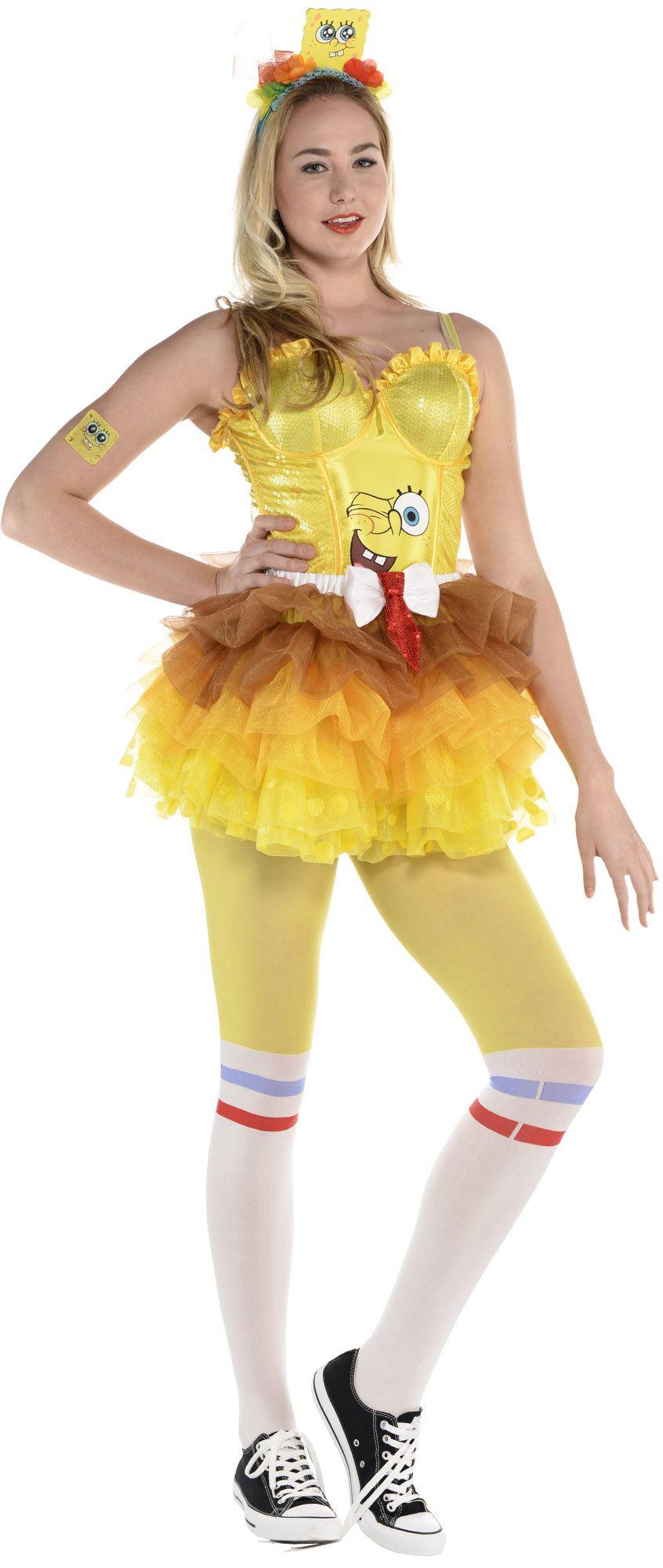 Create Your Own Look - Female Sponge Bob #1
