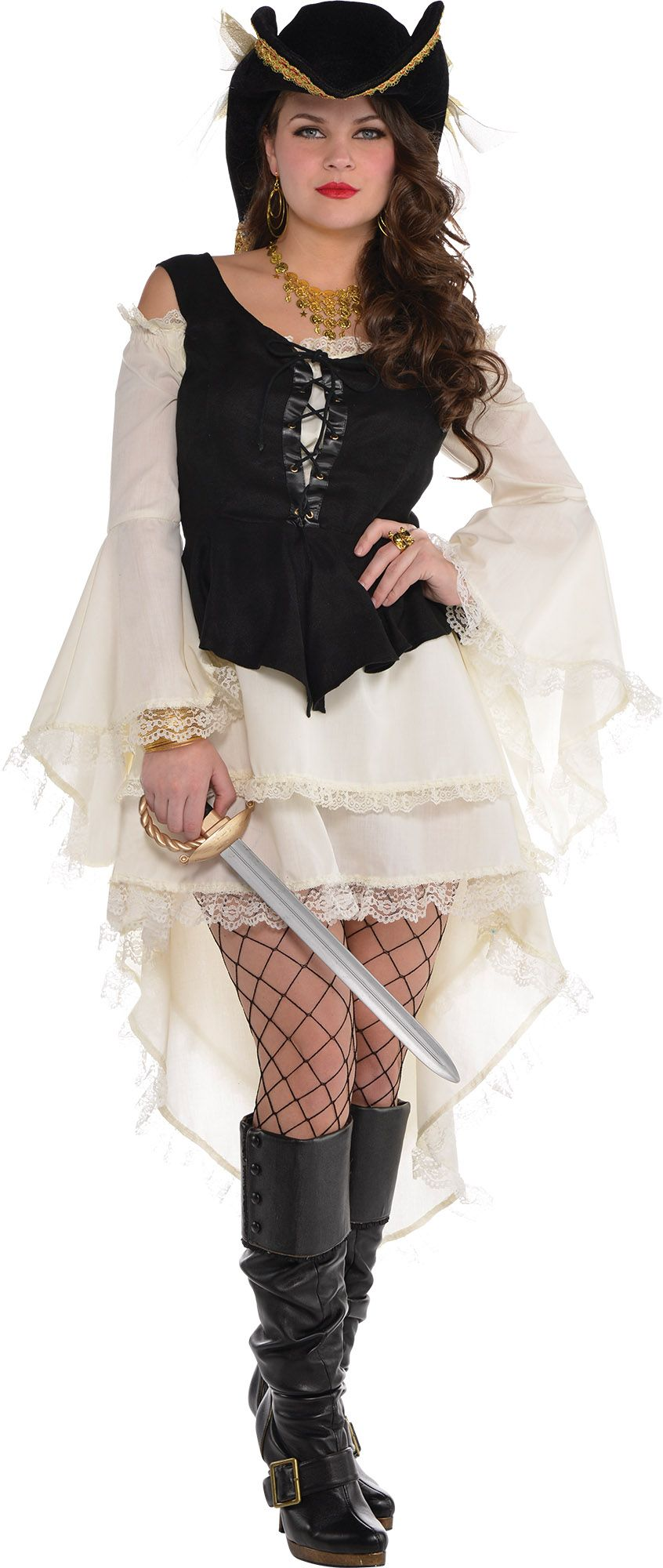 Create Your Own Look - Female Pirate Dress #2