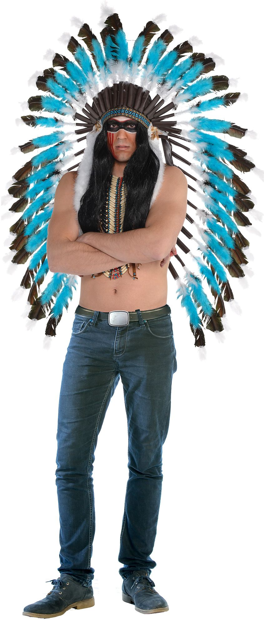 Create Your Own Menu0026#39;s Native American Costume Accessories | Party City