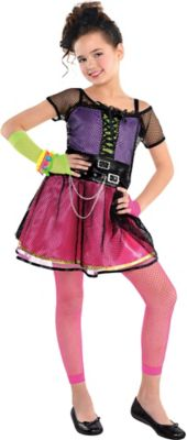 Girl Pop Star Create Your Look  sc 1 st  Party City & Create Your Own Girlsu0027 80s Pop Star Costume Accessories | Party City